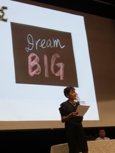 If you're going to dream...dream big!