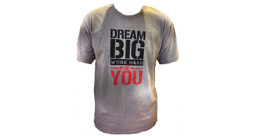 Pre-Register For All Sessions And Receive The Dream Big, Work Hard, Be You T-Shirt (Value $15)